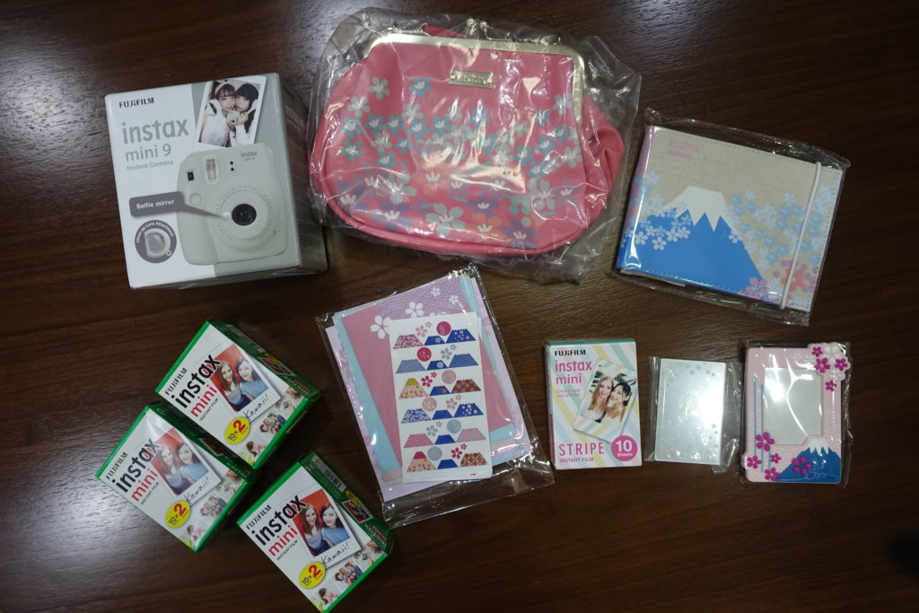 instax mini 9 sakura package 2